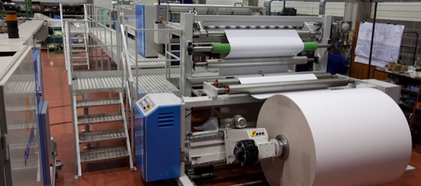 paper converting equipment